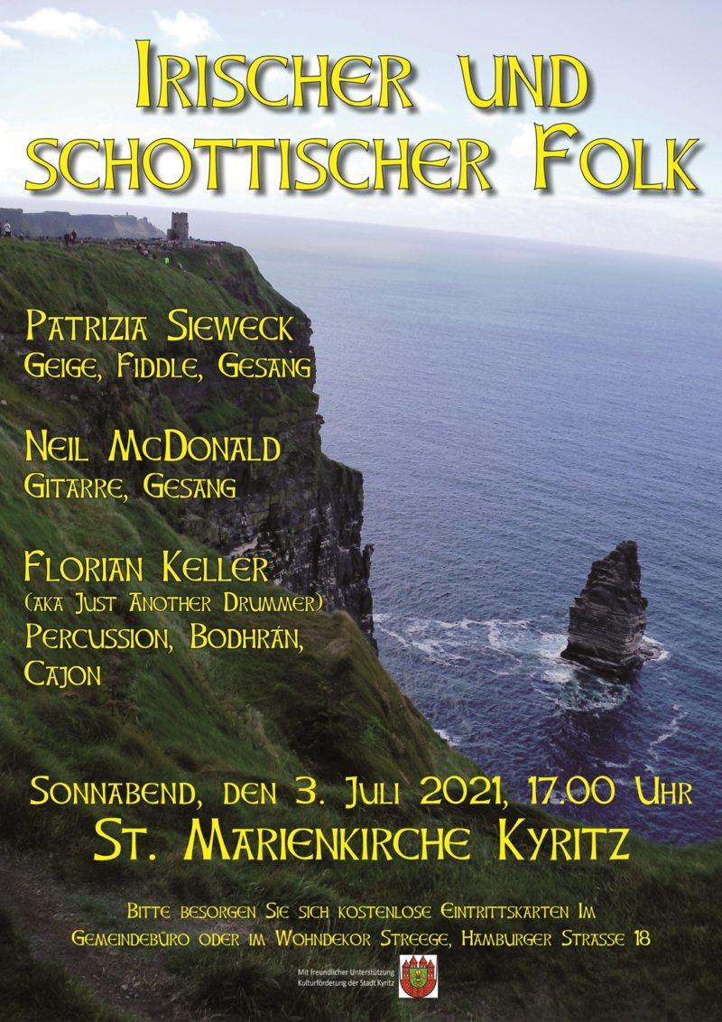 Irischer und schottischer Folk
